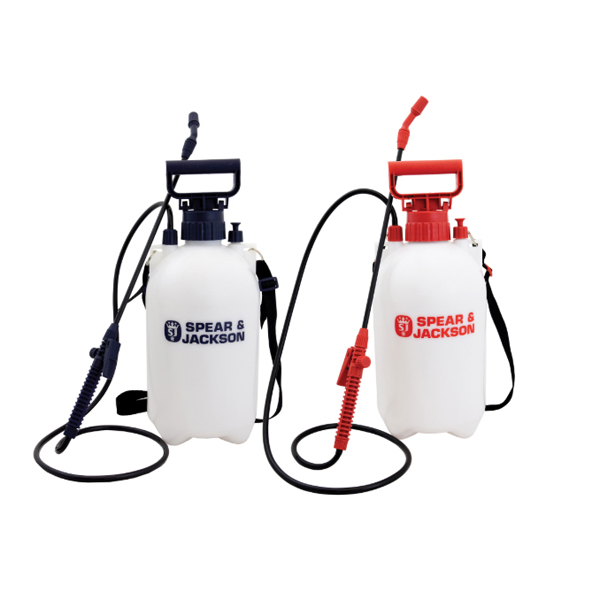 Spear & Jackson 5L Sprayer (Twin Pack) No Colour