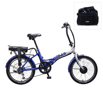 Elife Royale 6sp 36v 250w Electric Folding Bike 20inch Wheel with FREE Elife Storage Bag