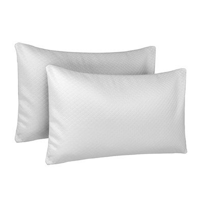 Dreamtime Memory Foam Choice Comfort Pillows (Twin Pack)