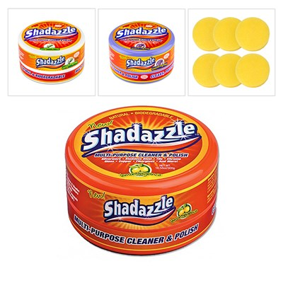 One Citrus Shadazzle Tub with One FREE Lavender and One FREE Eucalyptus Shadazzle Tubs Plus Six FREE Extra Applicators