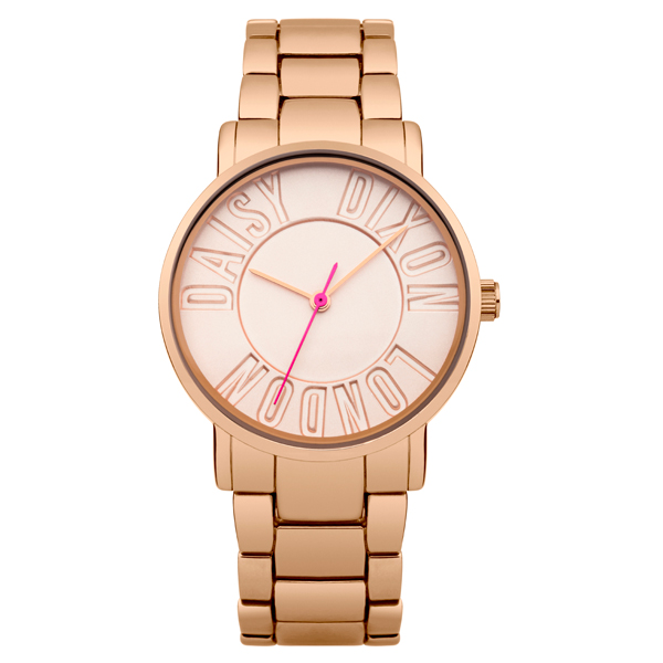 Daisy Dixon Ladies' Christie Watch with Stainless Steel Bracelet Rose Gold