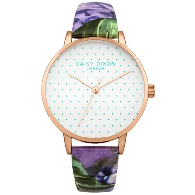Daisy Dixon Ladies' Suki Watch with Patterned Strap
