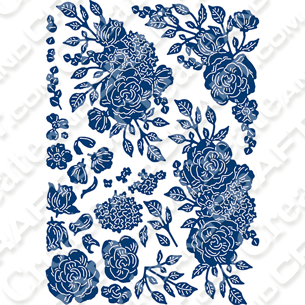 Tattered Lace 3D Decoupage Dies Princess Collection No Colour