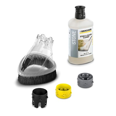 Karcher Splash Guard & 1l Stone Cleaning Detergent