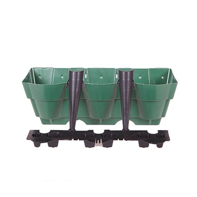 Vertical Wall Planter System - Single
