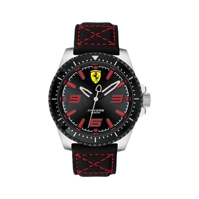 Scuderia Ferrari Gents XX Kers Watch with Genuine Leather Strap