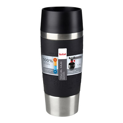 Tefal Stainless Steel Travel Mug