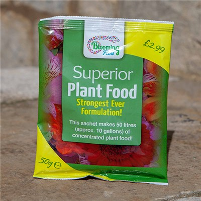 Blooming Fast Superior Soluble Fertiliser 50g Sachet