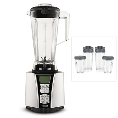 Tefal UltraBlend High Speed Blender with 2 x 800ml and 2 x 1 Litre Cups