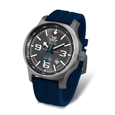 Vostok Europe Gents Automatic N1 Expedition Watch with Silicone Strap