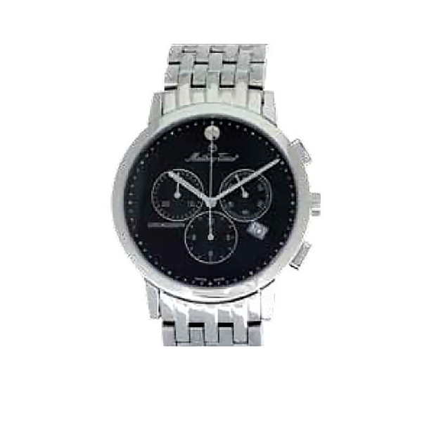 Mathey-Tissot Gent's Sports Classic Chronograh with Stainless Steel Bracelet No Colour