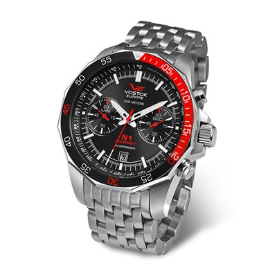 Vostok Europe Rocket N1 Men's Chronograph Quartz Watch 6S21-2255295