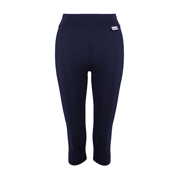 Proskins Intelligent Slim Range Plus Capri Leggings Navy
