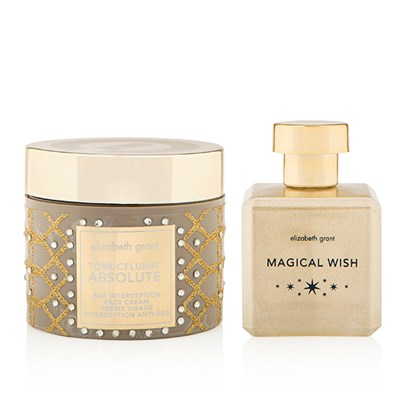 Elizabeth Grant Christmas Torricelumn Absolute Age Intervention Cream 200ml and Magical Wish EDP 90ml