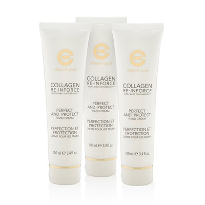 Elizabeth Grant Collagen Re-Inforce Perfect & Protect Hand Cream Trio