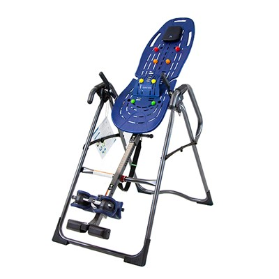 Teeter Hang Ups EP-860 Inversion Table with Acupressure Nodes, Lumbar Bridge, Traction Handles and Exercise Guide