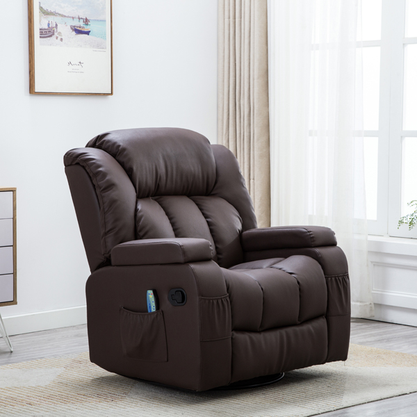 Dorchester Ultimate 12 in 1 Recliner Brown
