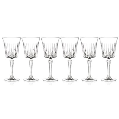 RCR Timeless Set of 6 Wine Glasses