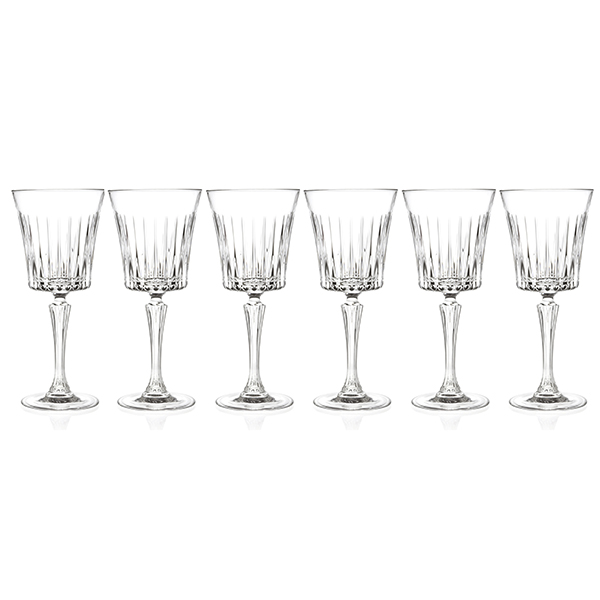 RCR Timeless Set of 6 Wine Glasses No Colour