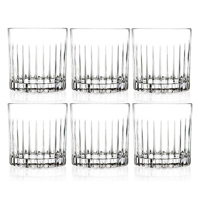 RCR Timeless Set of 6 Whiskey Glasses
