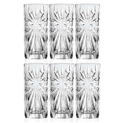 RCR Oasis Set of 6 High Ball Glasses