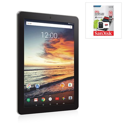 RCA Neptune 10L 10 Inch, Quad Core, Android 6.0 Tablet with 16GB Micro SD