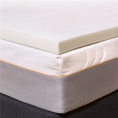 4.5cm Topper with Coolmax Fitted Sheet Double
