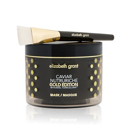 Elizabeth Grant Caviar Nutruriche Gold Edition Mask 200ml with Brush