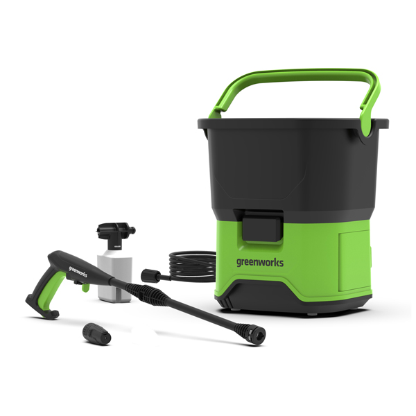 Greenworks GDC40 40V 70bar Cordless Pressure Washer (Tool Only) No Colour