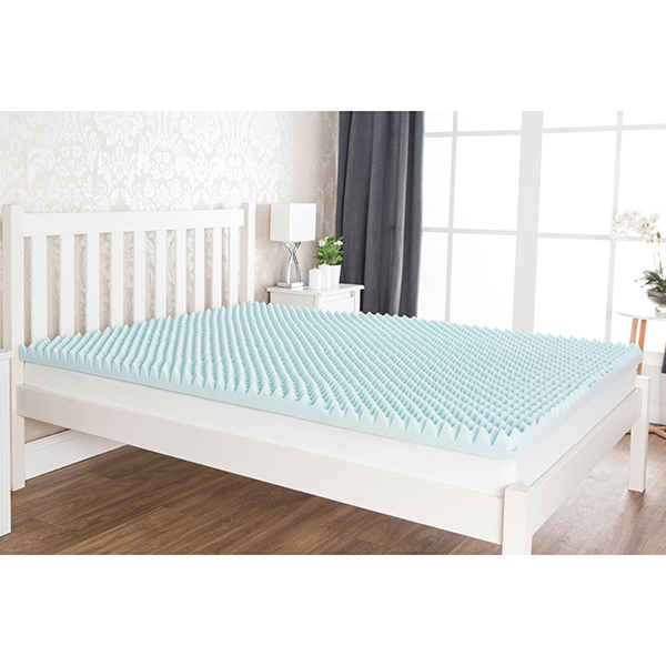 Comfort & Dreams 6cm Climate 600 Cool Blue Memory Foam Topper (King) No Colour