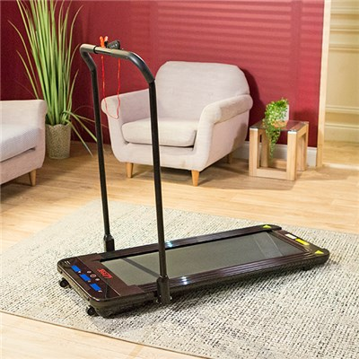 Linear Premium Foldable Walking Treadmill with Phone Holder and Remote Control