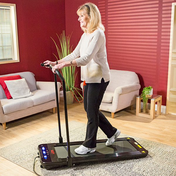 Tv Ideal: Linear Premium Foldable Walking Treadmill With Phone