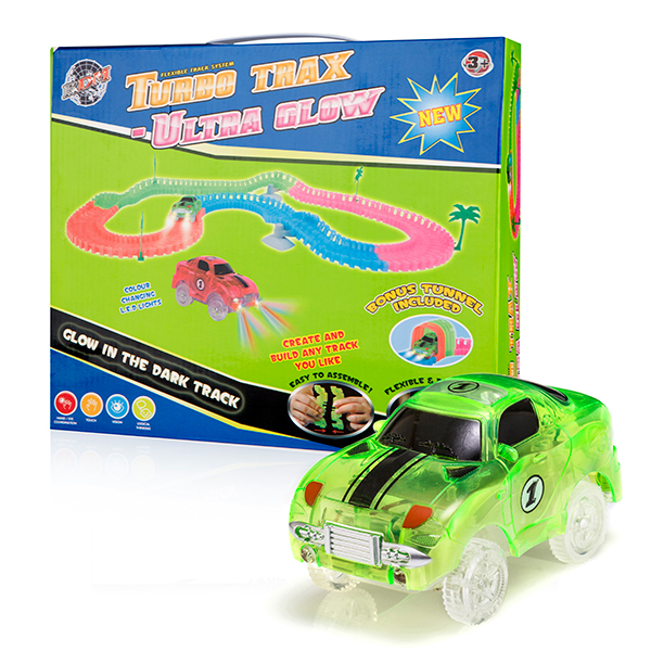 Turbo Trax Ultra Glow Green