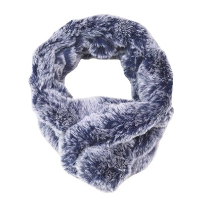Faux Fur 2 in 1 Scarf