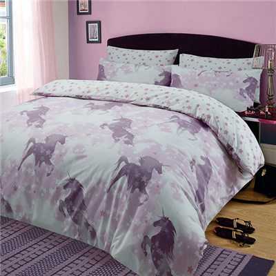 Unicorn Dreams Duvet Set Double