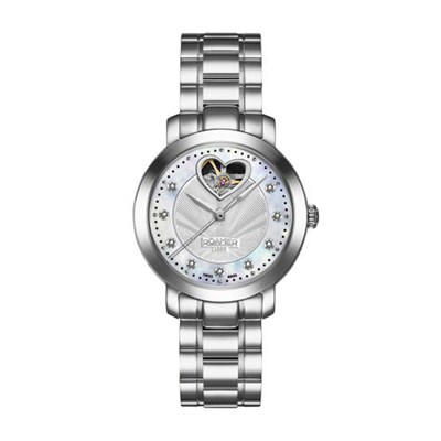 Roamer of Switzerland Ladies Sweetheart Automatic with Stainless Steel Bracelet