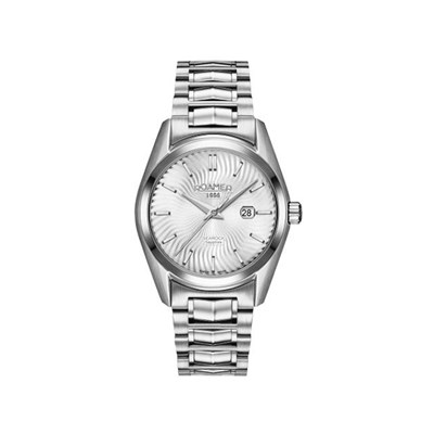 Roamer of Switzerland Ladies Searock 34mm Watch with Stainless Steel Bracelet