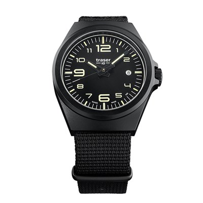 Traser Gent's Swiss P59 Essential Watch with Textile Strap
