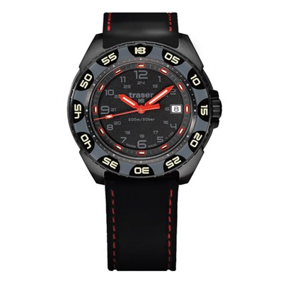 Traser Gent's Swiss P49 Red Alert GTLS T100 Watch