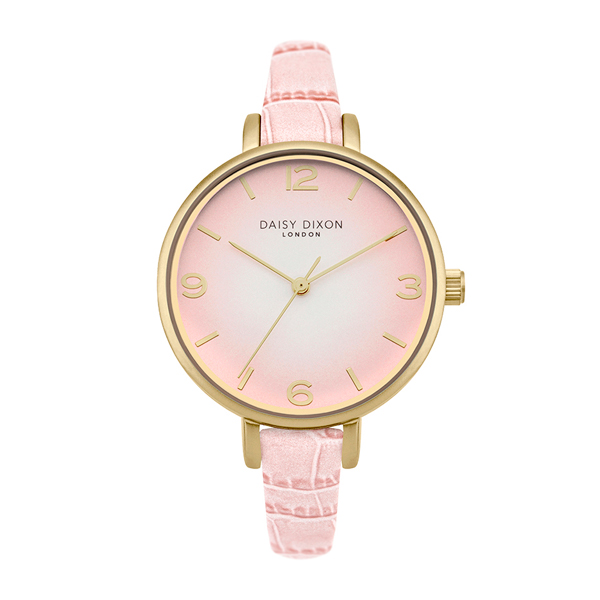 Daisy Dixon Ladies' Jessie Analogue Watch Pink