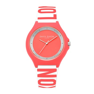 Daisy Dixon Ladies Daisy Rubber Analogue Watch