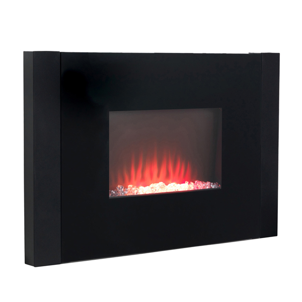 Beldray EH2209AR Atlanta Colour Changing Wall Fire with Bluetooth Audio Speakers No Colour