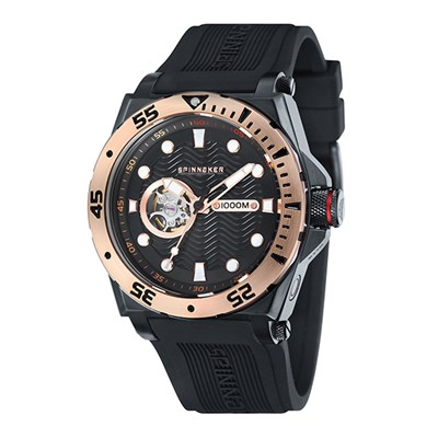 Spinnaker Gent's Overboard Automatic Watch with Silicone Strap