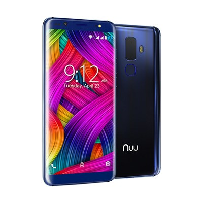 NUU G3 4G LTE Android Smartphone with 5.7 inch HD Screen, 13MP Camera, 64GB Storage