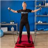 Vibrapower Slim 2 Plus with Equipment Mat, Resistance Bands, Wrist Remote Control and Wall Chart