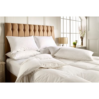 Scandinavian Feather 10.5 Tog Duck Feather and Down Duvet (Double)