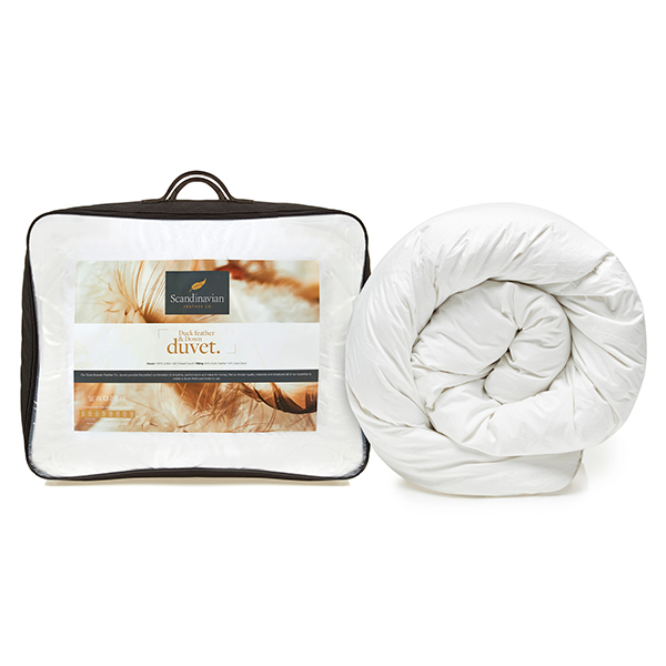 Scandinavian Feather 10 5 Tog Duck Feather And Down Duvet