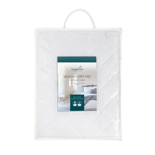 Snuggledown Wash and Dry Me Pillow Protector No Colour