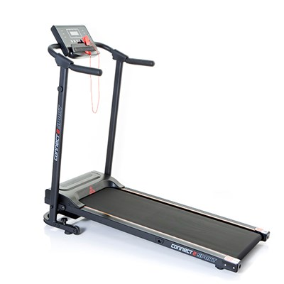 Connect2Sport Foldable Walking Treadmill with Tablet Holder and Built In Speakers
