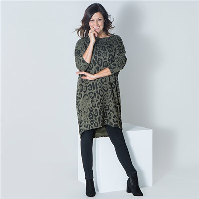 Sugar Crisp Animal Print Tunic